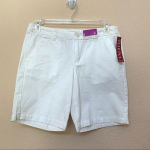 ✅ Merona White Shorts NWT